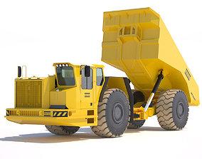 3D Underground Mining Truck Atlas Copco MT5020 model