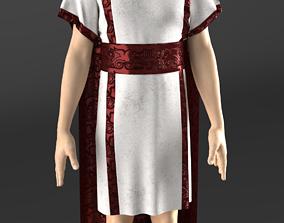 Roman Elites Toga 3D asset VR / AR ready