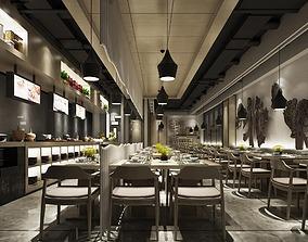 3D model Restaurant 07