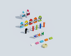 3D model Voxel Hygiene Products