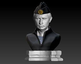 Vladimir Putin 3D print model president