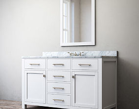 3D RH HUTTON SINGLE EXTRA-WIDE VANITY