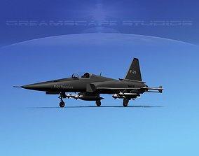 3D Northrop F-20 Tigershark V01