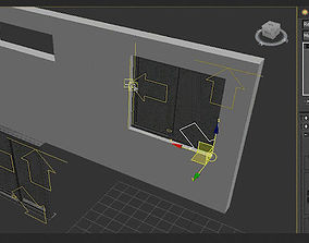animated architectural 3dsmax smart window