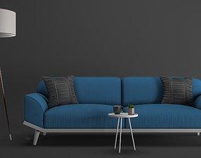 3D model TOMRIS sofa set