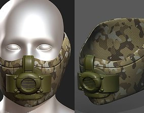 3D model Gas mask protection 2