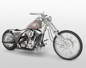Harley Davidson FXR 1989 Custom 3D