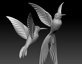 colibri humming bird 3D printable model