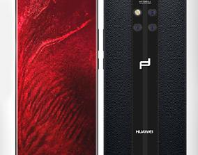 Huawei Mate 20 RS Black 3D model