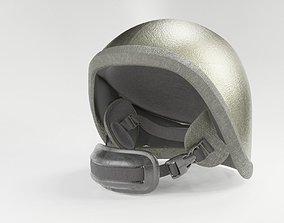 military Combat helmet 3D soldier