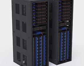 3D model Server rack media