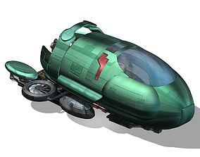 Spaceship 01 3D