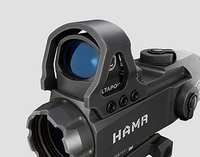 Leupold Mark 4 HAMR Scope and DeltaPoint Red Dot 3D