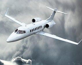 Bombardier Learjet 45 3D model