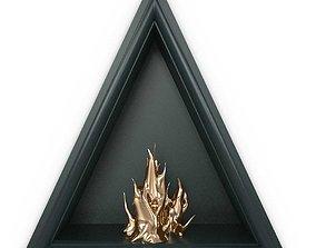 MATHIEU LEHANNEUR fireplace and power of love 3D