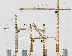 Twer Crane Pack 3D model