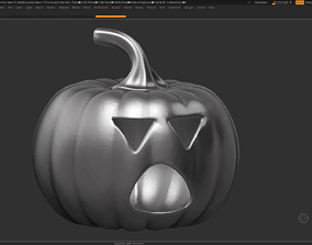 halloween pumpkin 15 3D print model