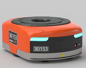 3D model Amazon Kiva Robot