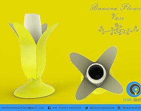 3D print model Banana Flower Vase