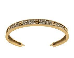 Bvlgari bracelet 3D