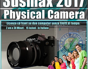 002 3ds max 2017 Physical Camera vol 2 CD