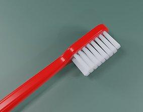 Toothbrush Simple - Brush - Escova de dente 3D model