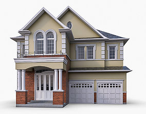 Cottage House 04 3D model