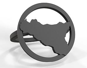 Sicily ring 3D printable model