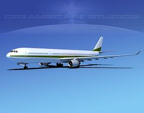 Airbus A330-300 Corporate 6 3D model