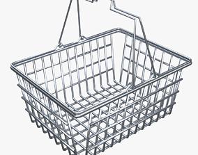 3D Shopping Metal Basket