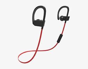 3D model In-ear headphone wireless