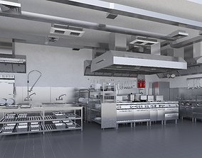 Commercial Kitchen v2 3D model