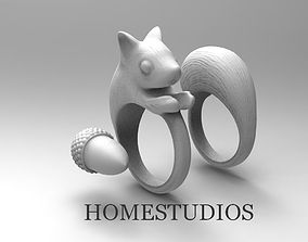 RING SQUIRREL BASE FORM 3D printable model