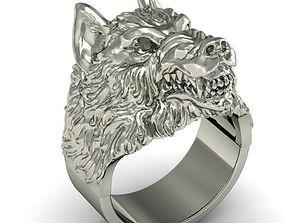ring wolf 3D print model
