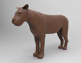 3D print model Lioness