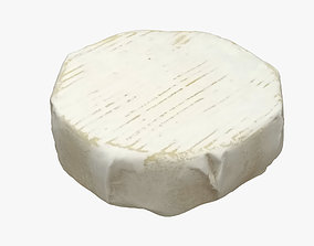 3D model Camembert Cheese lunch