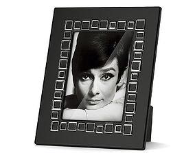 3D Black picture frame