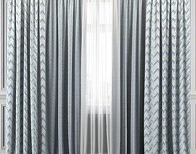 3D model Curtain Set 319