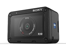 3D SONY RX0 Ultra Compact Shockproof Waterproof Digital 1