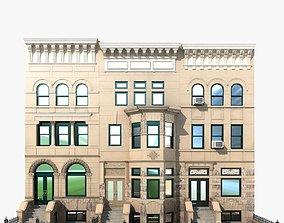 3D model Hystoric NYC Townhouse