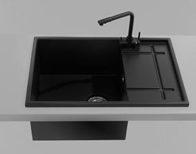 3D model Modern kitchen sink