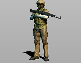 3D print model Russian military
