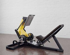3D Gym equipment 08 am169