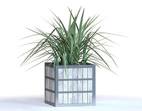 3D Outdoor boxed planter