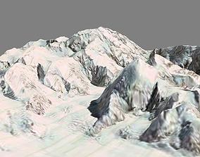 game-ready Denali Deenaalee McKinley Mount 3d model