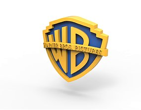 symbol 3D printable Warner Bros Pictures logo
