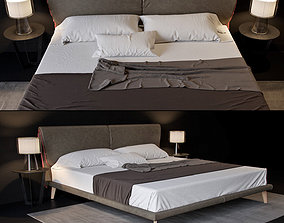 Cattelan Adam bed 3D model