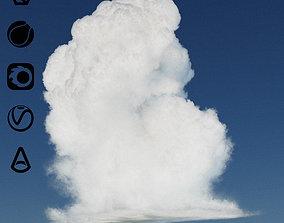 3D model Vdb cloud A