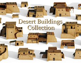 Desert Buildings Collection 3D model