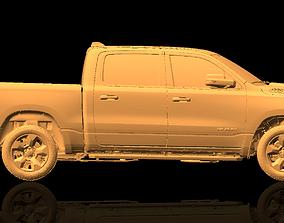 Dodge Ram 1500 Native Exterior 3D Scan 2018
